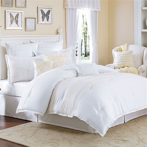white bed comforters the most brilliant bed bath and beyond bedspreads intended
