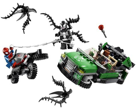 Set 3in1 Batman Vs Spider lego 76004 spider cycle i brick city