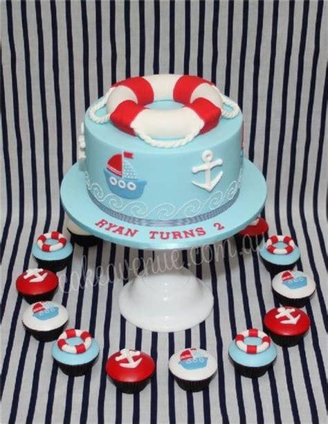 themed cake decorations nautical baby shower theme ideas jareceqyk