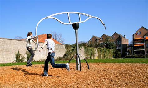 rotating swing the world needs more playgrounds for grown ups puddle