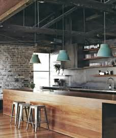 pics photos industrial home design wood and steel furniture