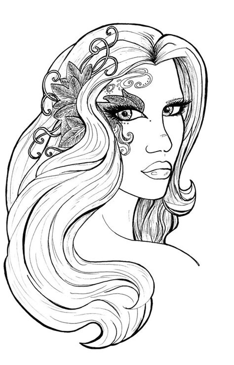 elf magic coloring pages amy brown fantasy myth mythical mystical legend elf elves