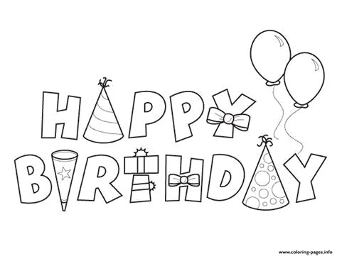 coloring pages of birthday happy birthday alphabet050e coloring pages printable