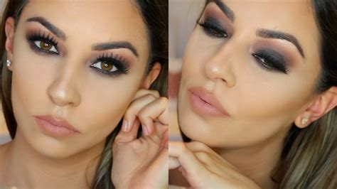 makeup tutorial eyeliner for hooded eyes fall smokey eye makeup tutorial for hooded eyes youtube