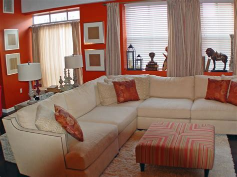 brown and orange home decor burnt orange and brown living
