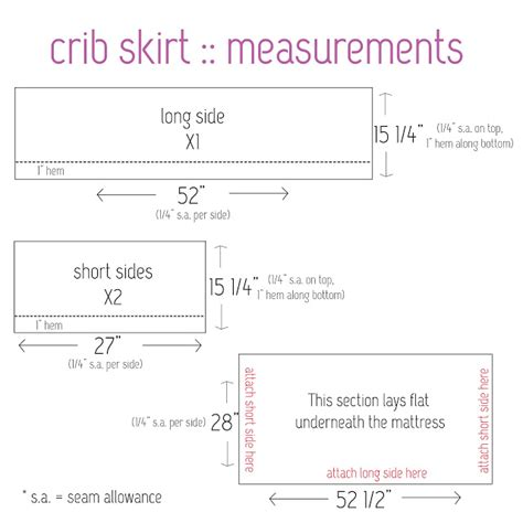 comforter measurements elle apparel crib bedding 101