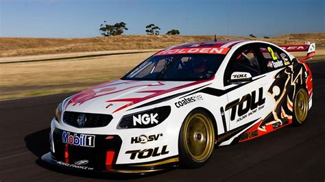 Holden Racing Team's Garth Tander and James Courtney show