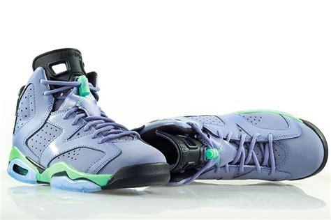 Light Purple Jordans by 2015 Air 6 Retro Light Purple Green Black