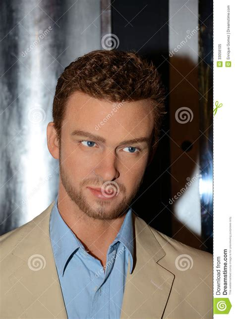 Justin Timberlake Gets Waxed by Justin Timberlake Editorial Image Image Of Tussauds