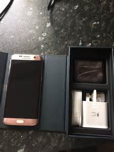 Samsung galaxy s7 edge rose gold 32gb in wirksworth derbyshire