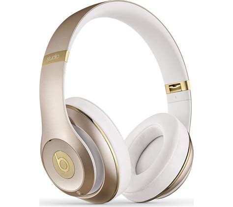 Beats By Dr Dre Studio Bluetooth Wireless Headphones beats by dr dre studio 2 0 wireless bluetooth noise cancelling headphones gold
