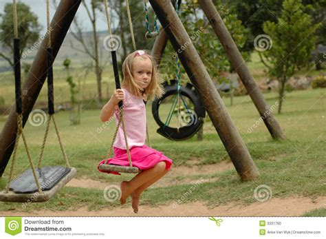 sex on the swing lonely playground stock photo image 3331790