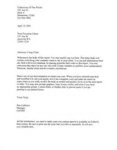 letter to client template letter of recommendation