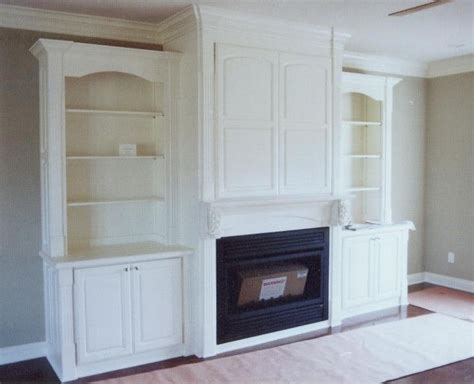 entertainment center with fireplace home style