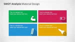 swot analysis powerpoint template clipart metaphors