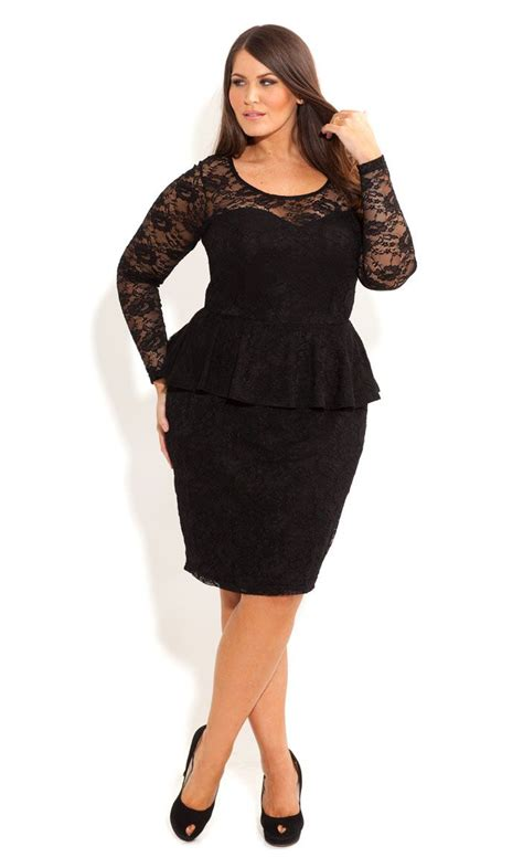 Special Blus Embos Peplum 1 lace peplum dress with sleeve real has
