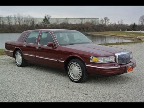 1996 lincoln town car signature series for sale dayton troy piqua sidney ohio cp14206a youtube