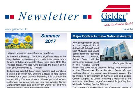 New Newsletter News by Newsletters Gelder