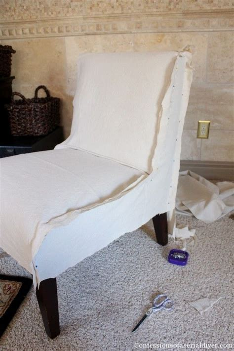 slipcover tutorial for chairs pinterest the world s catalog of ideas