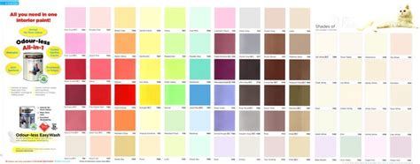 kwal paint color chart wall painting odourless premium all in 1 nippon paint singapore