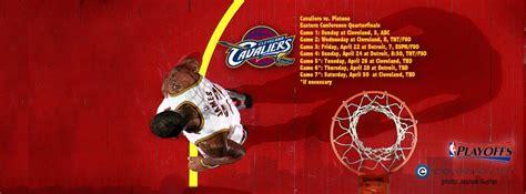 cleveland cavaliers nba playoffs  schedule