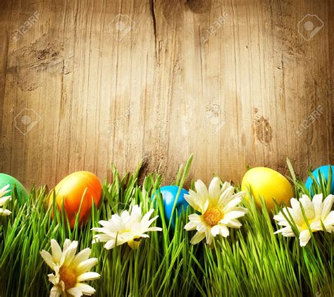 real easter eggs in grass happy easter 2018