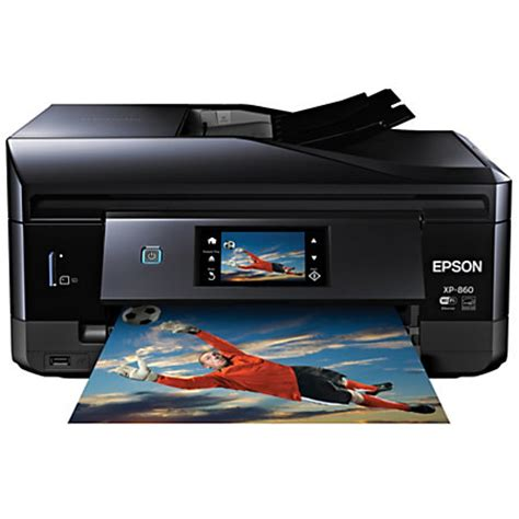 Printer Epson Copy epson expression wireless color inkjet all in one printer scanner copier photo and fax xp 860 by