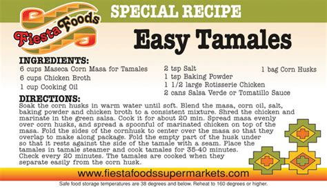 fiesta foods recipes