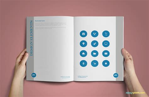 branding design book 15 professional brand guidelines templates bundle zippypixels