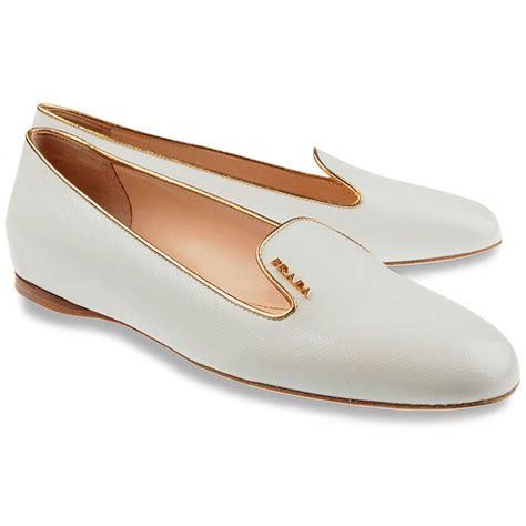 white loafers shoes white loafers by prada shoes s slip on prada shoes