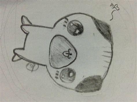 kawaii sketchbook my sketch of a kawaii pug by heavenchoco on deviantart
