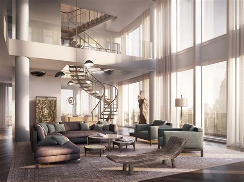 modern penthouses rupert murdoch s new home in new york a 57m 4 floor