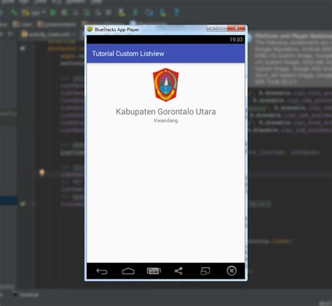 android studio listview tutorial tutorial custom listview dengan android studio