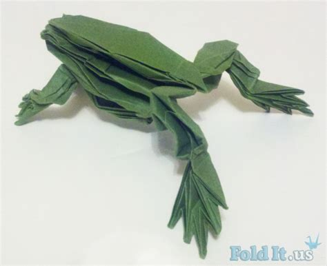 Tree Frog Money Origami Dollar Bill Vincent The Artist - origami frogs