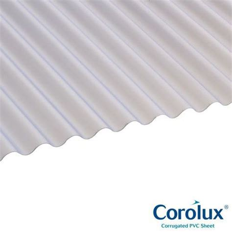 Mini Sheet pvc mini corrugated roofing sheets clear 1 83m x 0 662m