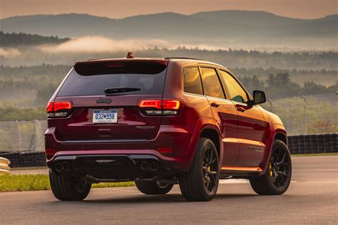 jeep trackhawk back 2018 jeep grand cherokee trackhawk is here blog