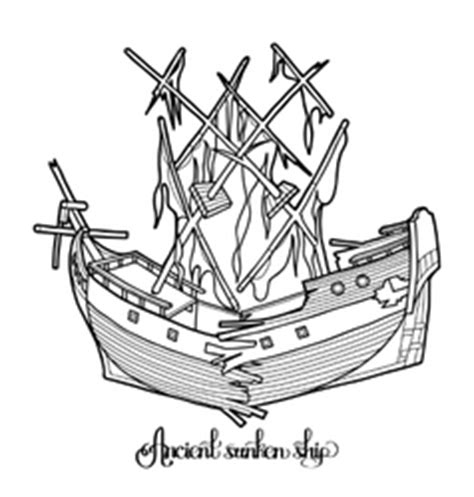 ghost ship coloring page anchor vintage coloring books coloring pages