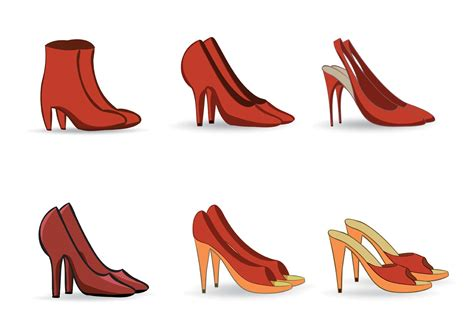 shoes vector free shoe vectors free vector stock