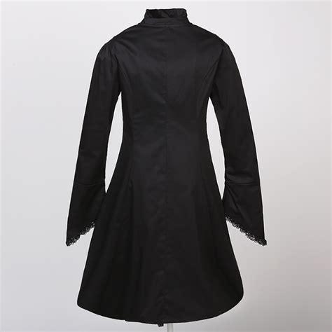 Jaket Parasut The Adventure Black Polos vintage high neck jacket n11870