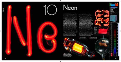 Neon On Periodic Table by Neon In The Elements By Theodore Gray
