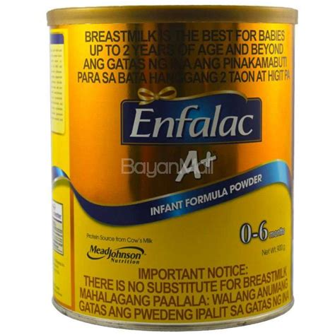 Formula Enfalac Enfalac A Infant Formula Formula Powder From 0 6 Months