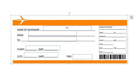 Boarding Card Template by 16 Real Boarding Pass Templates 100 Free
