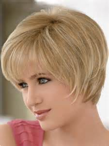 salon haircuts for faces with hair and easy to fix short hairstyles for round faces easy