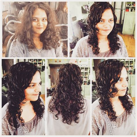 unlayered hair hear hair here with avani yashwin right ringlets