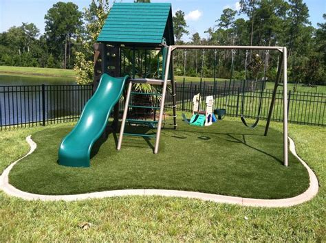 Playground Padding For Backyard Best 25 Synthetic Lawn Ideas On Pinterest Putting Green