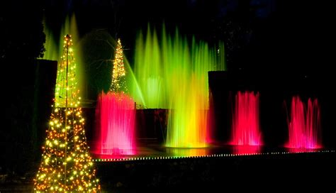 Longwood Gardens Light Show by The Best Lights In And Around Philadelphia The