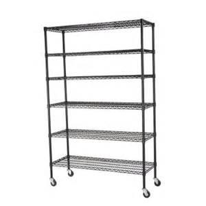 wire shelves home depot sandusky 6 shelf 48 in x 18 in x 74 in steel wire