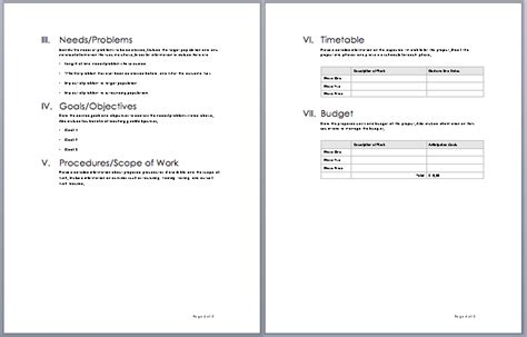 templates for proposals in word project template studio design gallery