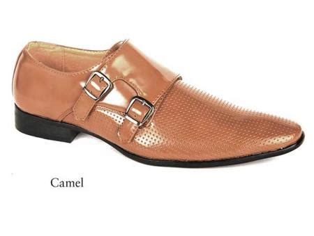 s leather dress camel shoes