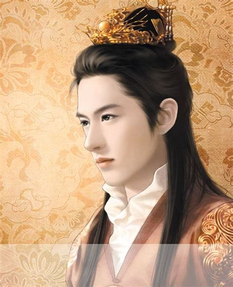 chinese hairstyles history 求一张手绘古代帅哥图片 百度知道